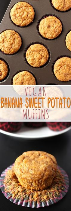 These muffins are the definition of nutritious and delicious! Nutrient packed sweet potato take these muffins to the next level!