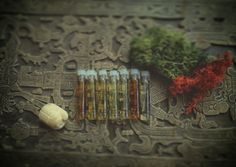 Egyptian Gods - SAMPLE SET, Ritual perfumes / Ancient Egyptian Perfumes / Arabian, oriental, spicy scents / Natural perfume • Ritual • Witch
