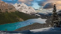 Mountains in Motion: The Canadian Rockies by The Upthink Lab. Beautiful time-lapse short film.