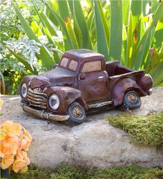 Solar Antique Pickup Truck