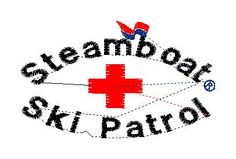 Steamboat Ski Patrol Flag custom embroidery design for KT - custom embroidery by LLHembroidery on Etsy