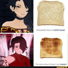 That's what you get Cinder!