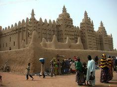 Grande Mosquée de Djenné, Mali