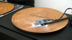 When You Put Tree Rings on a Record Player, The Sound Is Unexpectedly Beautiful #sounds #recordplayer