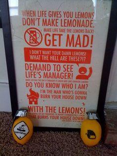 HAHA - Lemons!