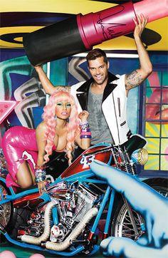 Mac lipstick + Nicki Minaj = Heaven