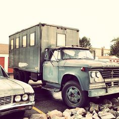 Just think of all the amazing things you could do with this truck. Guest house? Food truck? Moveable boutique?