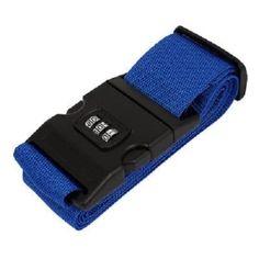 ซื้อเลย  TravelGear24 สายรัดกระเป๋าเดินทาง พร้อมรหัสล็อก Travel Luggage BeltSuitcase Strap - น้ำเงิน/Navy  ราคาเพียง  98 บาท  เท่านั้น คุณสมบัติ มีดังนี้ สายรัดกระเป๋าเดินทางทนทานมาพร้อมกับการรักษาความปลอดภัยด้วยรหัสล็อค วัสดุของล็อคประตู: abs วัสดุของสาย: ไนลอน ความยาวรวม: ประมาณของ200cm กว้าง 5 ซม. สามารถปรับได้