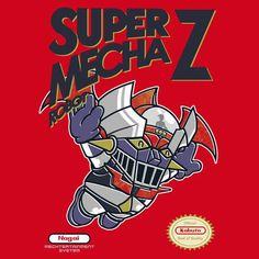 Super Mecha Robot T-Shirt $12.99 Mazinger tee at Pop Up Tee!
