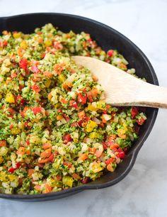 Healthy Crockpot Recipes, Healthy Eating Recipes, Whole Food Recipes, Healthy Lunches, Healthy Foods, Keto Recipes, Avacado Dinner, Whole30, Coliflower Recipes