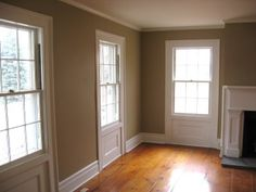 Benjamin Moore Lenox Tan - my living room color currently