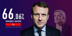 Les résultats de l'élection présidentielle française à 6h10, lundi 8 mai 2017.