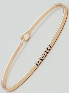 """""""Fearless"""" Bracelet"""