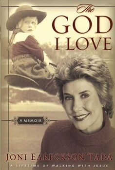 Joni Eareckson Tada shares her own fascinating journey of how a fervent love affair with God bloomed out of a broken life.