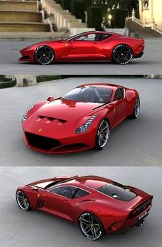 Ferrari 612 GTO - Absolutely perfect design. Sexy and sultry in its balance and curves. Agressive and angry in the cuts and venting, like a well dressed psycopath, it is an outer elegance hiding an inner ferocity, only hinted at by well proportioned lapses in that elegance.