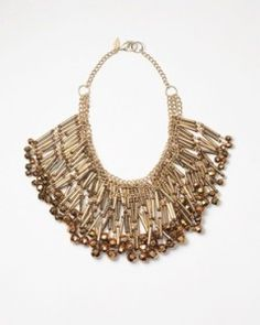 """""""Chandelier Statement Necklace"""" from Coldwater Creek. Dramatic."""