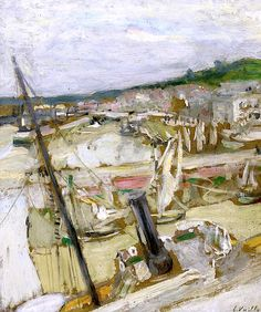 Édouard Vuillard / Le Port De Honfleur