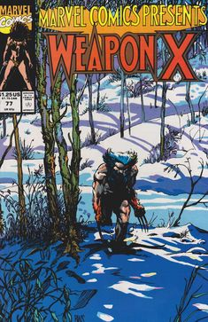 Weapon X  77 cover by Barry Windsor-Smith