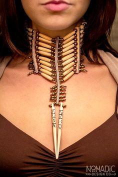 The Supreme - Native American Breastplate Choker Collar