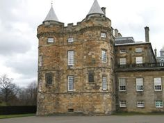 Place: Holyroodhouse, Midlothia, Scotland   Palace of Holyroodhouse King James IV Tower Mary Queen of Scots Rizzio ...