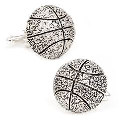 Rep your favorite basketball team with officially licensed NBA cufflinks and accessories. I Love Basketball, Basketball Workouts, Nba Basketball, Basketball Jewelry, Mature Mens Fashion, Vertical Jump Training, Designer Cufflinks, Sterling Silver Cufflinks, Fashion Jewelry