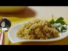 Quinoa Recipes - How to Make Quinoa Side Dish