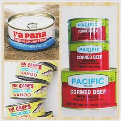 Samoan food in a can