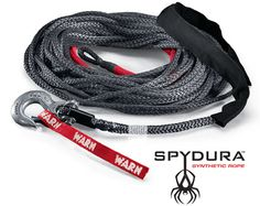 Warn Industries - Winch Rope for Jeep, Truck & SUV Winches: Synthetic Rope