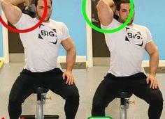 correctnes triceps exercise