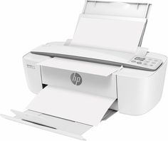 HP - DeskJet 3755 Wireless All-In-One Instant Ink Ready Printer - Left Zoom
