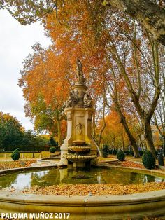 Fuente de Apolo y las Cuatro Estaciones en el Paseo del Prado de Madrid  Fountain of Apollo and the Four Seasons in the Paseo del Prado in Madrid