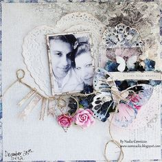 I love this memory **SCRAPS OF ELEGANCE JANUARY KIT** - created by Nadia Cannizzo