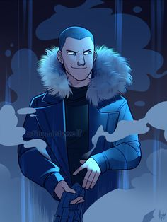 im sorry, i dont have a dc comics board i dont wanna make one, but if im correct, this is leonard snart aka captain cold (i might be wrong) but, props to whoever did this he looks so cute :) Legends Of Tommorow, Dc Legends Of Tomorrow, Lenard Snart, Flash Drawing, Character Art, Character Design, Flash Wallpaper, Flash Barry Allen, Cw Dc