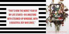 Bad Romance by Heather Demetrios Ya Novels, Bad Romance, Book Sites, You Sound, Beautiful Boys, Author, Books, Cute Boys, Libros