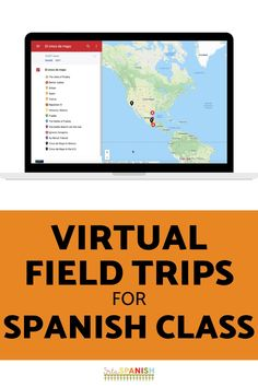 Need some ideas for virtual field trips in your Spanish classroom? Check out these lesson plans and activities to help your classes explore Spanish-speaking countries! These virtual field trips for Spanish class are great sub plans and work well to explore holidays and cultural celebrations. Your middle school and high school students will love this fun activity! Click for a FREE download to try with your students! Spanish Lesson Plans, Spanish Lessons, Spanish Activities, Class Activities, Spanish Classroom, Teaching Spanish, Teaching Culture, Middle School Spanish, How To Speak Spanish