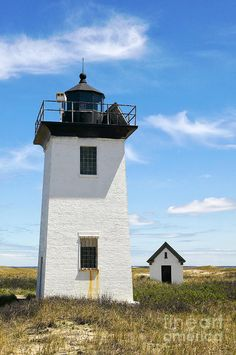 Wood End Lighthouse In Provincetown On Cape Cod Massachusetts Photograph
