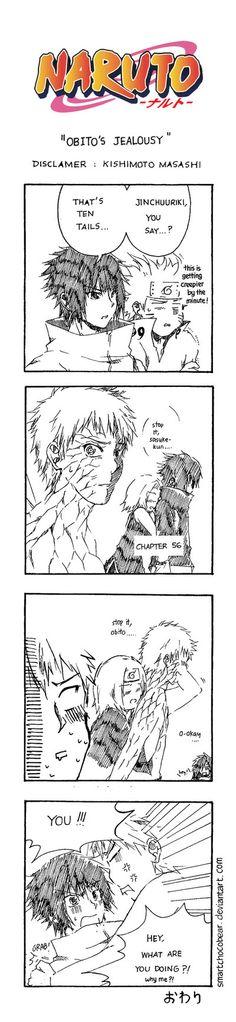 Naruto Doujinshi - Obito's Jealousy by SmartChocoBear on DeviantArt