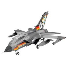 Tornado IDS Multi-Role Combat Aircraft 1/144 Revell Germany by Revell. $9.03. This plastic model kit requires plastic cement and paint for assembly, and they are sold separately.. 1-144 scale. Wingspan 3.35 inches. Features New mold, Super details and recessed panel lines, Detailed cockpit, Variable geometry wings, Detailed landing gear, External tanks, Sidewinder missiles, Decals for the German navy jubilee livery and an air force version. Skill level 2.