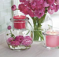 Add some #flowerpower to your Clearly Creative collection! https://amanda-jane.partylite.co.uk/Home