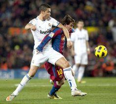Lionel Messi vs Cristiano Ronaldo ;D GO MESSI :D