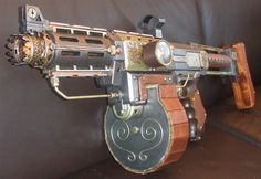 "#steampunk ""tommy"" gun... Do NOT call him ""Thomas."""