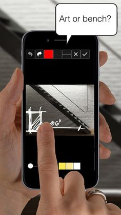 Morpholio Crit: Message + Mark Up #app for #Architecture, #Design, #Interiors, #Photography and #Art by Morpholio Apps #collaborate #business_apps #best_apps #small_biz #advice