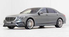 Grau Metallic machen diese 900 PS Brabus S-Klasse Look langweilig? Brabus Galleries Mercedes Mercedes S-Class Mercedes S65 AMG Tuning