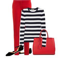Michael Kors Striped Cashmere Sweater