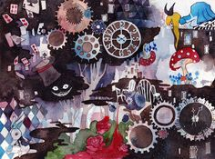 Down the Rabbit  Hole by LoveSoup.deviantart.com on @deviantART