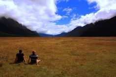 Knobs Flat, on the way to Milford Sound New Zealand. Taken by a Kiwi Experience passenger.