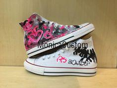 R 5 Custom Converse /Converse Sneakers/ by MonicaCustomShop