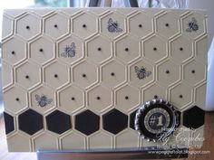 Wednesday, 23 January 2013  Honeycomb Embossing and Collage Curios
