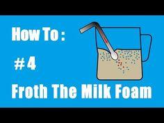 How to make latte art better - YouTube