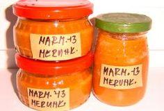 Meruňková marmeláda recept Bottles And Jars, Coffee Cans, Salsa, Food And Drink, Homemade, Canning, Fruit, Drinks, Recipes